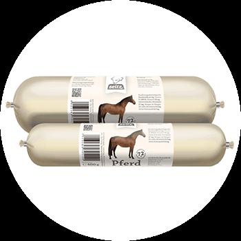 Pferd PUR – Hund mit Allergie