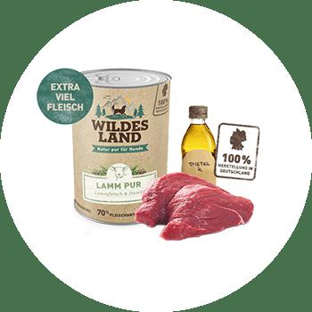 Wildes Land – Lamm PUR
